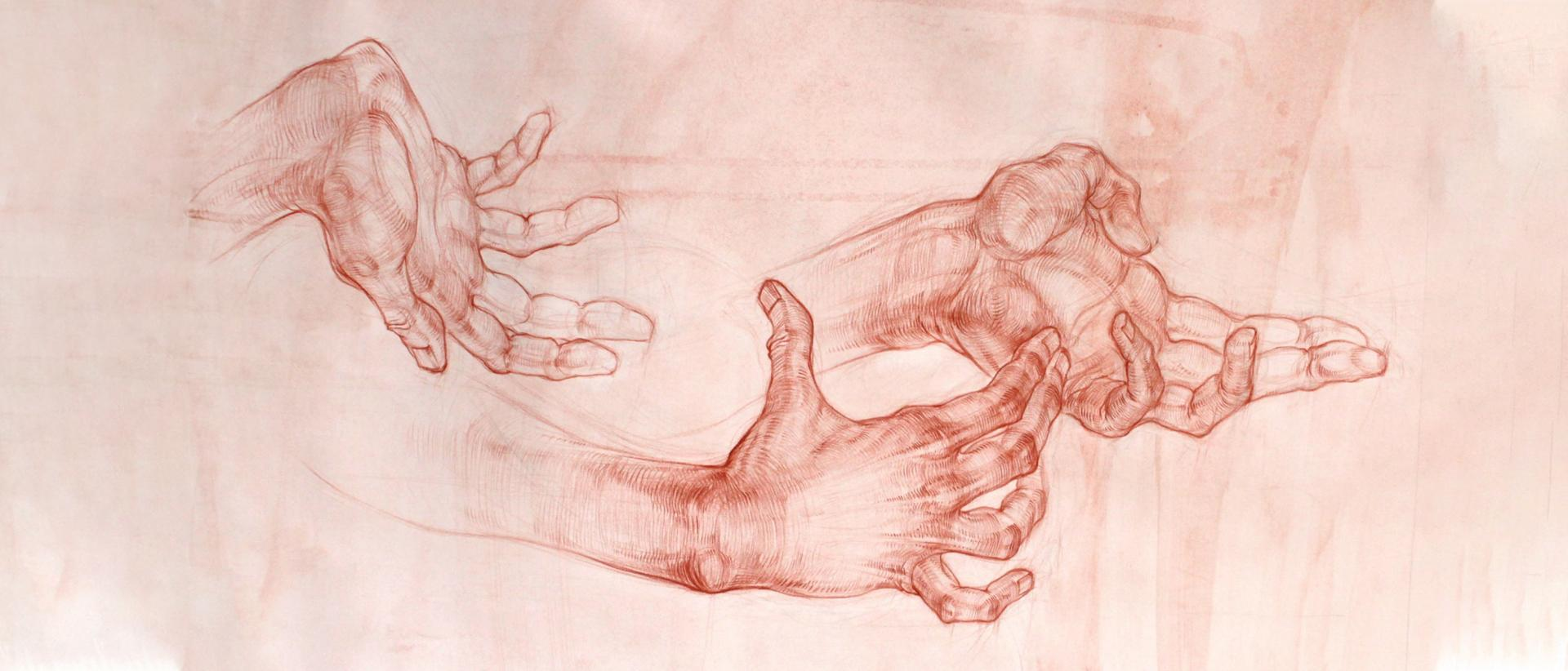 Работа студента курса Рисунок