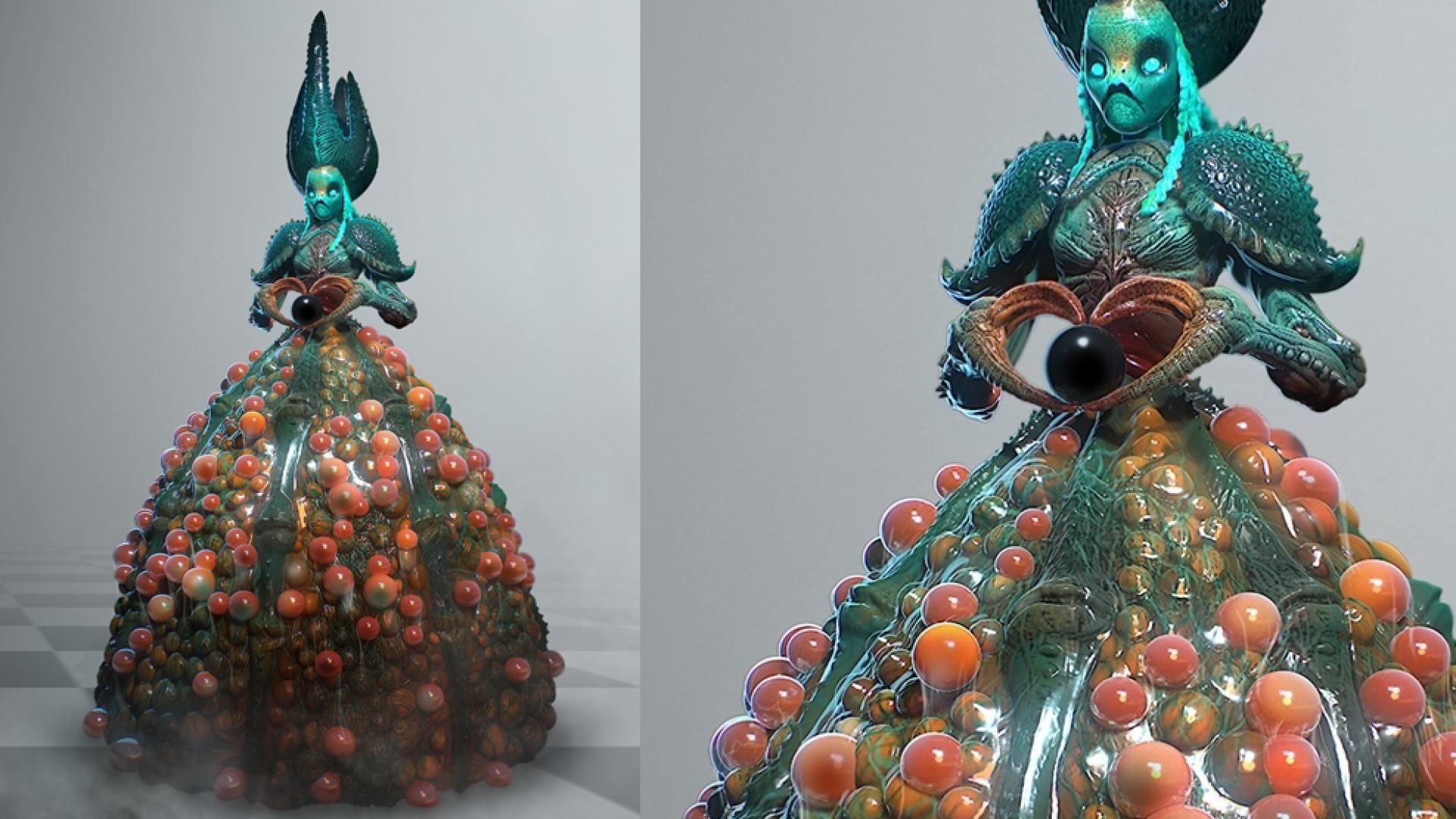 Работа куратора курса «3D Графика», Виталия Гомолицкого