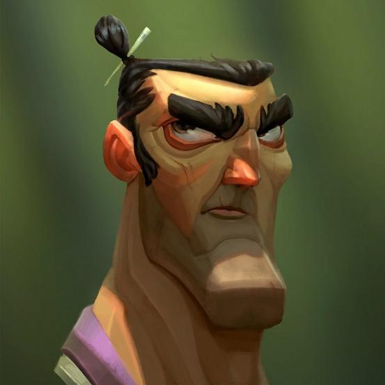 Цифровой портрет персонажа
