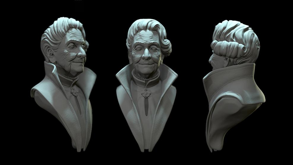 Работа студента курса «Online 3D Графика»