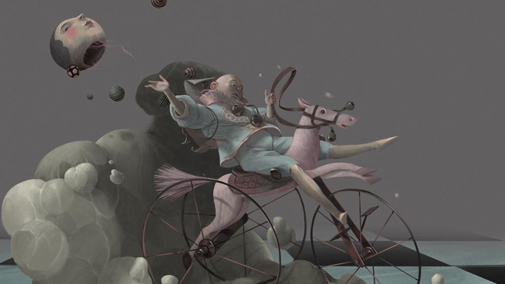 Работа куратора курса «2D Графика», Рината Хабирова