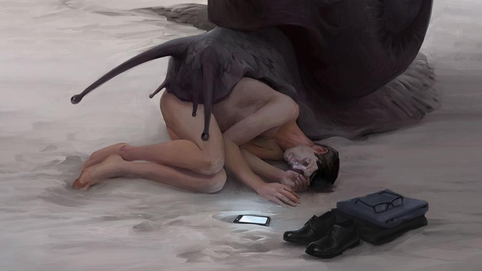 Работа куратора курса «Цифровая живопись», Яны Баулиной