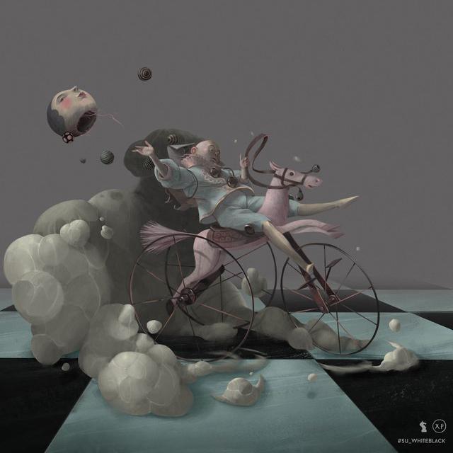 Ринат Хабиров. Графические серии работ. От идеи до реализации