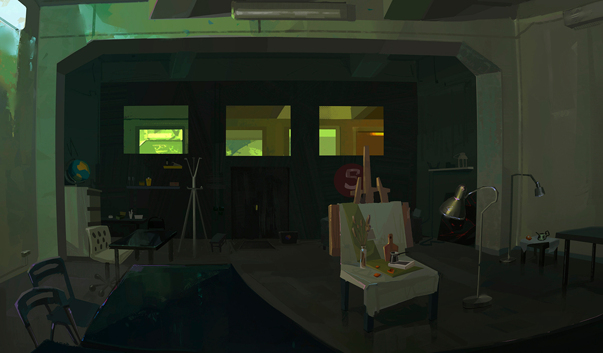 Работа куратора курса «2D Графика», Анны Винокуровой