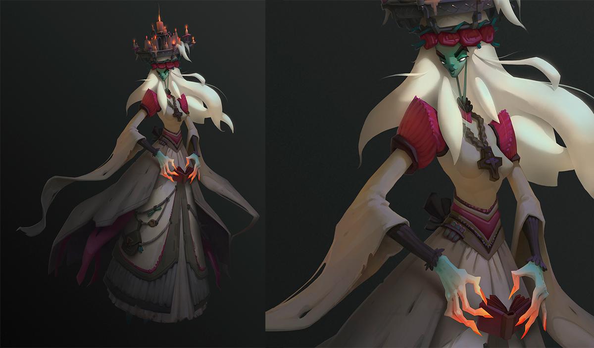 Работа куратора курса «2D Графика» и «Дизайн персонажа», Анжелики Винтер