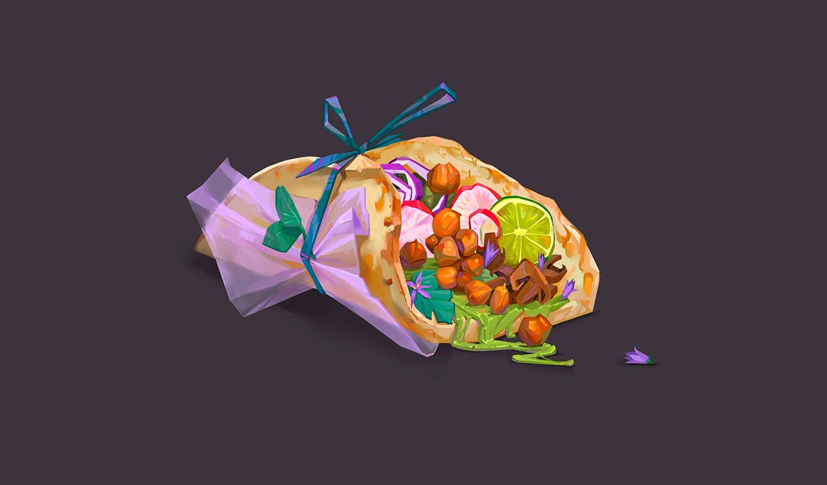 Работа победителя конкурса food challenge