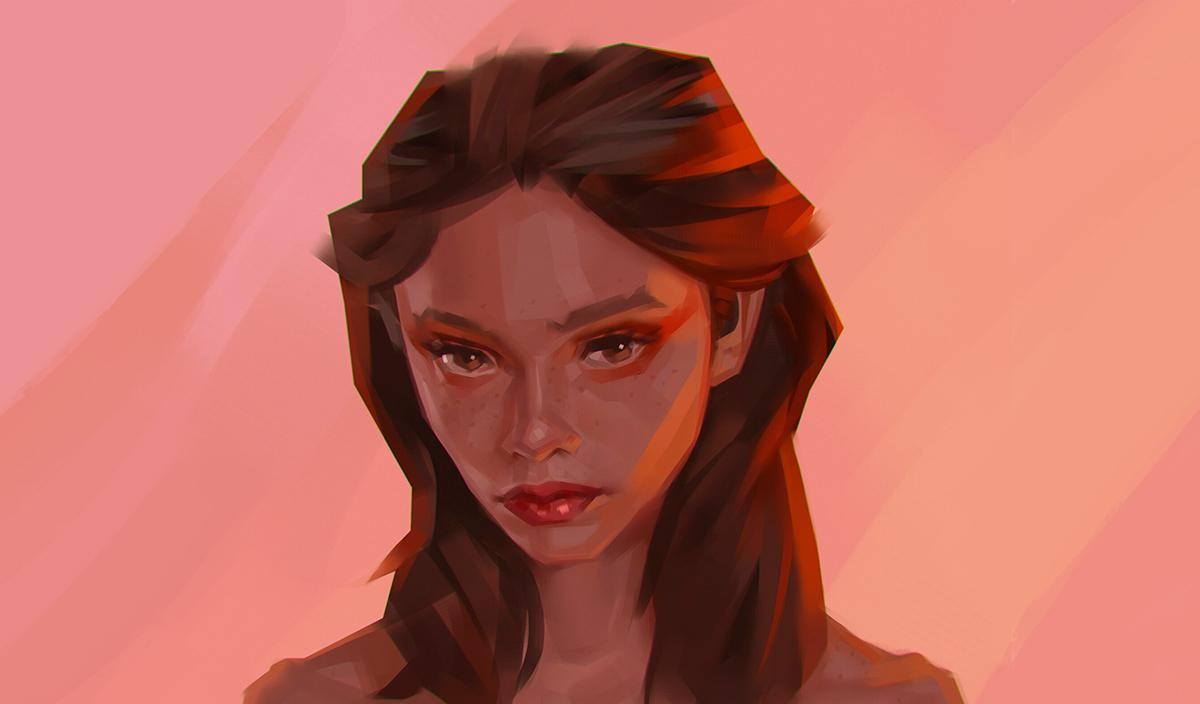 Работа куратора курса «2D Графика», Павла Томашевского