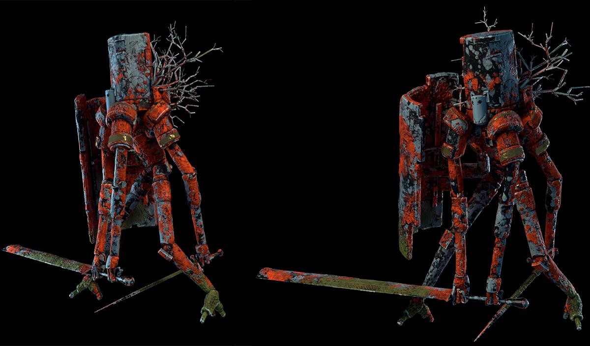 Работа куратора курса «3D Графика», Сергея Любашина