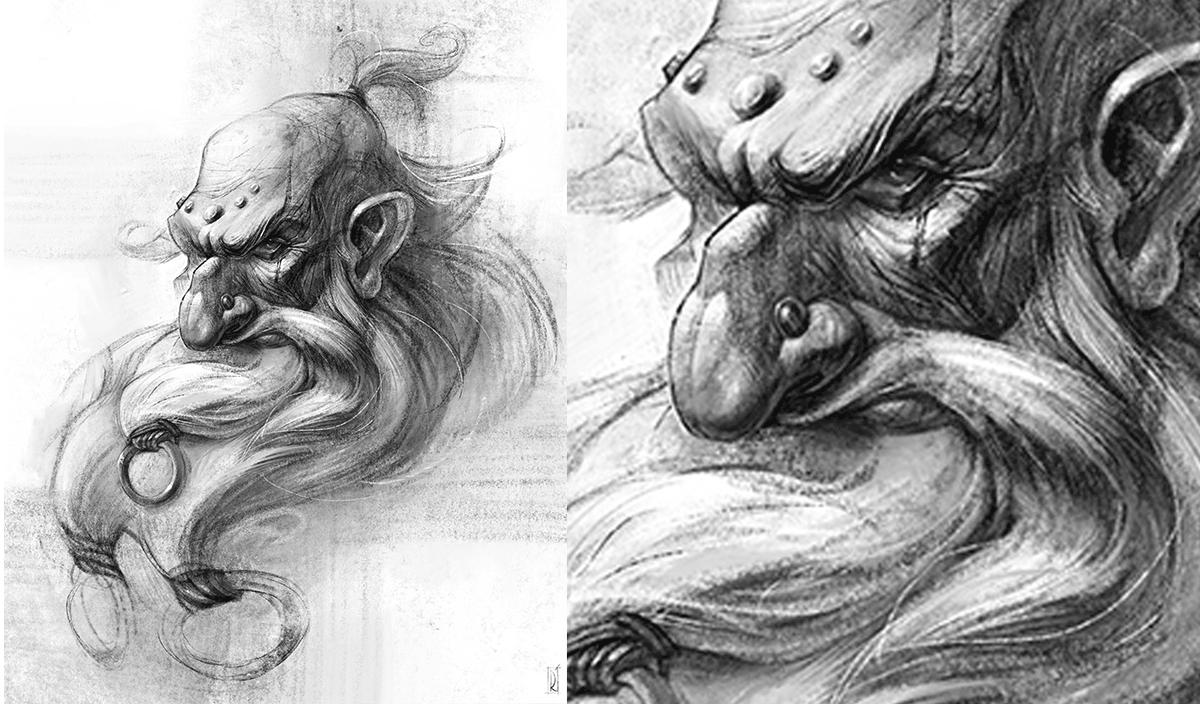 Работа куратора онлайн-курса 2D графика BASIC, Валерии Пронько